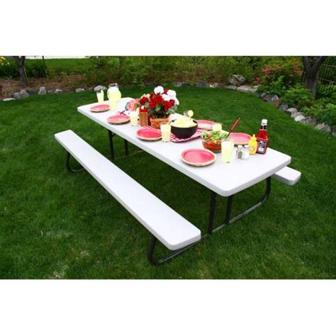 folding picnic table costco 8 picnic table laurensthoughts com
