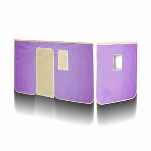 Vorhang Set Hochbett : sixbros vorhang stoff set f r hochbett lila beige vh 1415 ebay ~ Eleganceandgraceweddings.com Haus und Dekorationen
