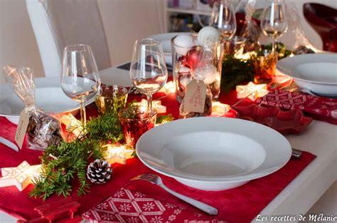 une decoration de table pour noel les recettes de melanie