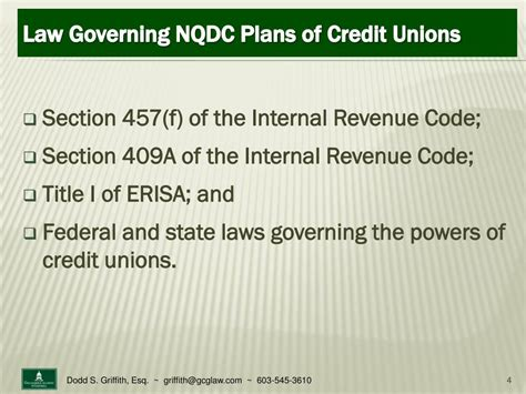 Section 382 Of The Revenue Code - ppt non qualified deferred compensation for credit