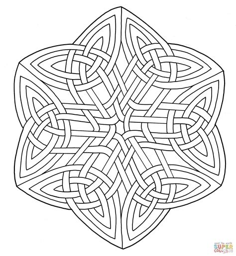 Celtic Mandala Coloring Pages Getcoloringpages Free Free