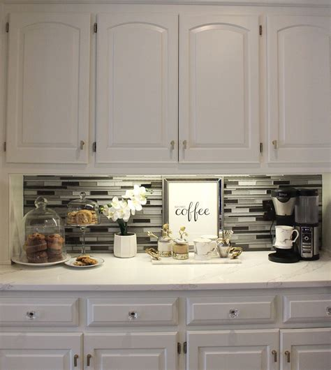 Coffee bar in kitchen love this idea classic christmas. 90+ Beautifully Designed Countertop Coffee Stations   Coffee bars in kitchen, Coffee bar home ...