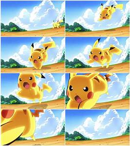 Pikachu - Quick Attack! :Animation Frames: by moxie2D on ...