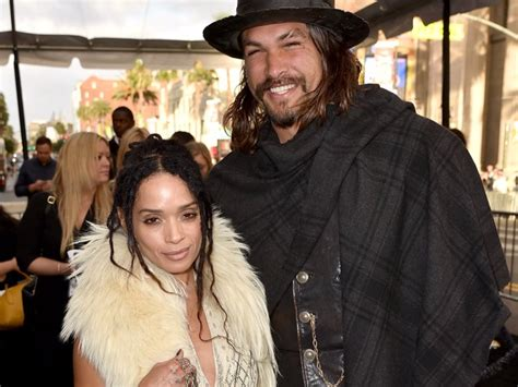 jason momoa shared  sweet story    met wife lisa