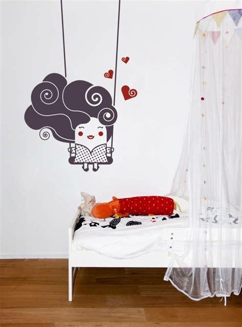 decoration murale chambre bebe décoration murale design facile idées pour les locataires