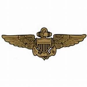 Navy Aviator Wings 6 x 2 1/2 Decal