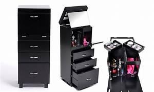 Meuble De Maquillage : meuble rangement maquillage groupon ~ Teatrodelosmanantiales.com Idées de Décoration