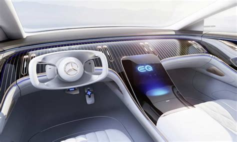 The mercedes benz vision eqs produces a total output of 350 kw. Mercedes-Benz Vision EQS imagines an all-electric S-Class of the future - Autodevot