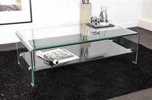 Table Basse En Verre Pas Cher : table basse en verre transparent otta table basse pas cher ~ Melissatoandfro.com Idées de Décoration
