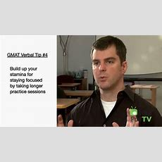 Mastering The Gmat Verbal Section Youtube