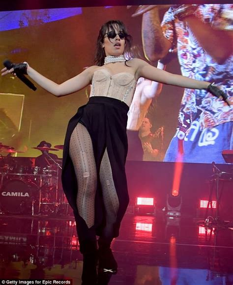 Camila Cabello Wears Lacy Corset From Her Never The
