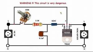 Ac Motor Speed Control Circuit  How To Make Single Phase Motor Speed Control Circuit