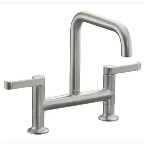 Kohler Torq Bridge Faucet by Tips For Choosing A Kitchen Faucet A Design Help