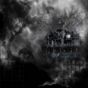 Haunted Graveyard House by mysticmorning on DeviantArt