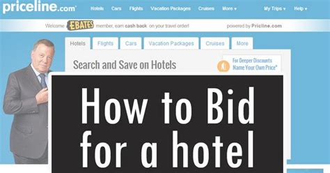 everyday reading how to bid for a hotel priceline