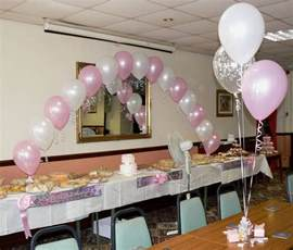 christening balloons boy or girl arch 10 table
