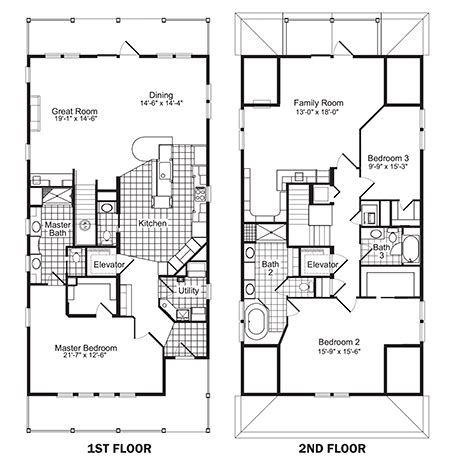 Single Family Home Plans Smalltowndjscom