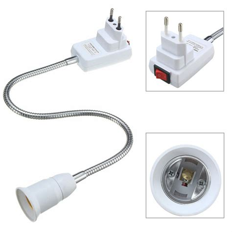 e27 light l bulb holder extension converter