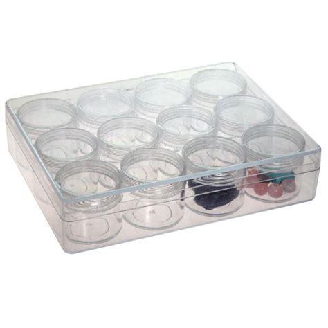 boite de rangement perles boite de rangement plastique pour perles et pierres l 163 x p 122 x h 34