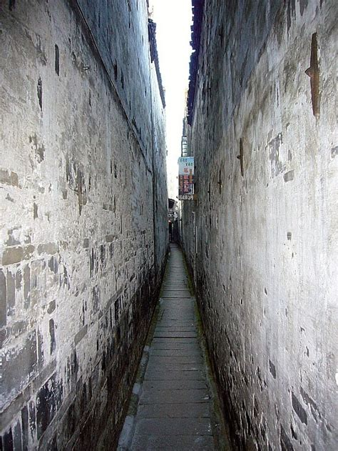 narrow  photo  zhejiang east trekearth