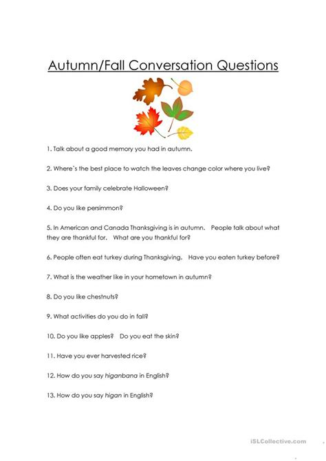 conversation questions for intermediate esl