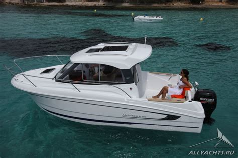 Cuddy Cabin Boat Outboard by Cuddy Cabin Boat Beneteau Antares 6 80 On Allyachts Org