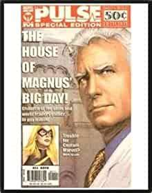 """Pulse House of M Special Edition Comic Newspaper """"Daily"""