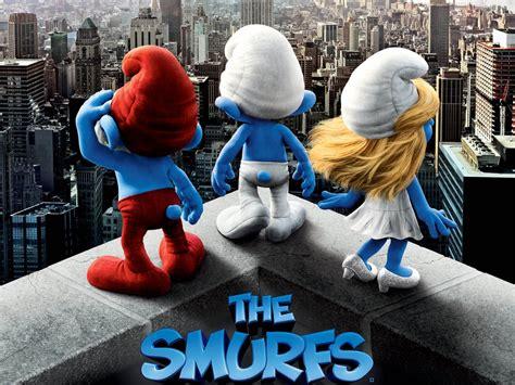 smurfs   poster wallpapers cartoon wallpapers