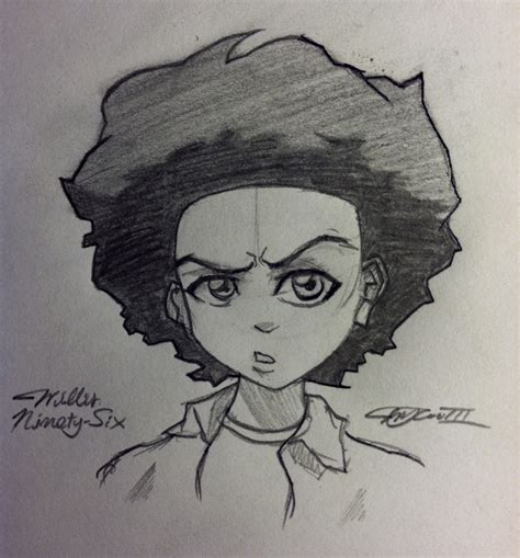 Sketch Huey Freeman By Willisninety Six On Deviantart