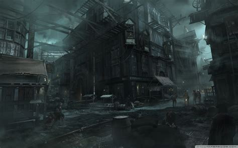 thief city video game   hd desktop wallpaper