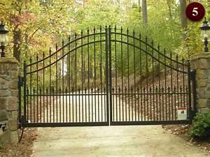 Iron Gates Design Gallery Residential Gates Raleigh Custom Wrought Iron Gates