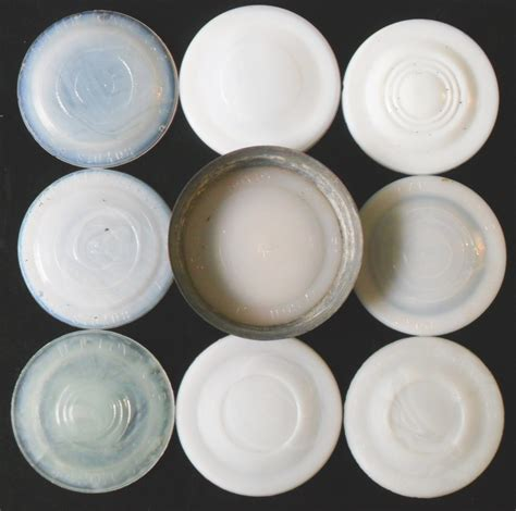 large jars boyd 39 s genuine porcelain lined cap milkglass jar liners