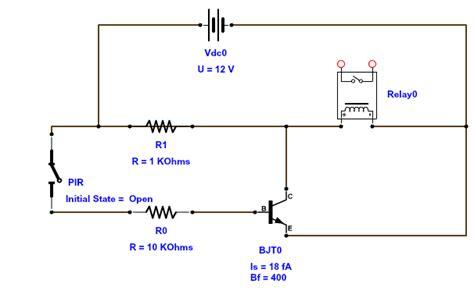 andy brown s pir motion sensor circuit for kitchen lighting