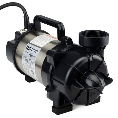 aquascape pumps aquascape tsurumi 9pl 7000 gph skimmer filter waterfall