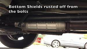 How To Stop Rusted Heat Shield Rattle On A 2009 Honda Cr