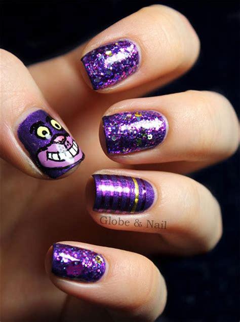 cute cat face nail art designs ideas