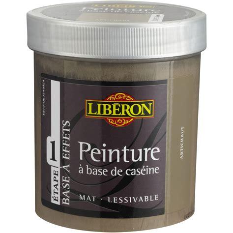 peinture liberon pour cuisine peinture à effet base caséine mat profond liberon argile