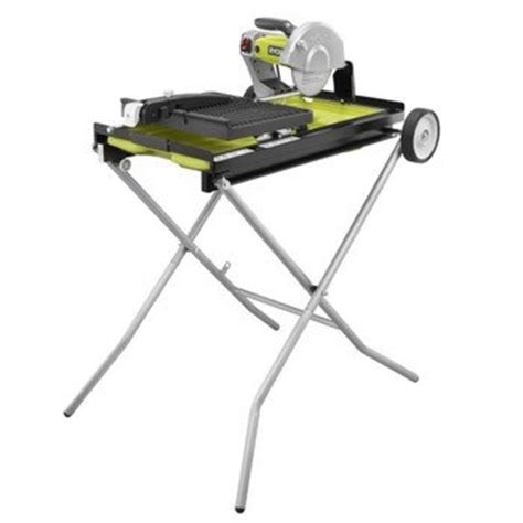 Ryobi Tile Cutter Makro by Factory Reconditioned Ryobi Zrws750l 9 7 In Portable
