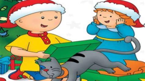 Caillou FranÇais 🌟 Joyeuse Fêtes 🌟 Dessin Animé Noël