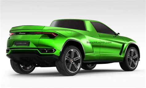 Lamborghini Urus Pickup Truck Is A Modern Lm002