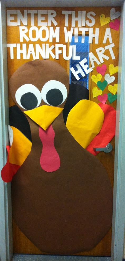Thanksgiving Classroom Door Decorations by 1000 Images About Office Door On Thanksgiving