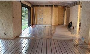 Faire Un Plancher Bois : plancher chauffant sur plancher bois le plancher ~ Dailycaller-alerts.com Idées de Décoration
