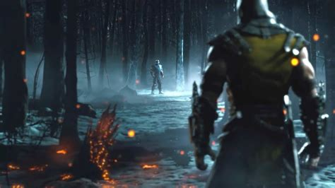 Mortal Kombat X Sub Zero Vs Scorpion Mortal Kombat Theme