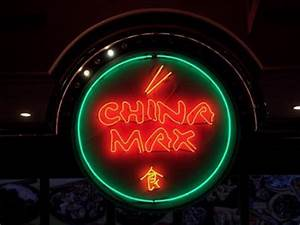 China Max Carousel Mall Syracuse NY Neon Signs on