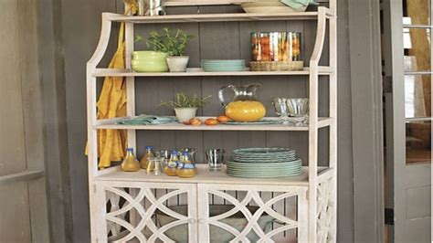 kitchen bakers rack cabinets youtube