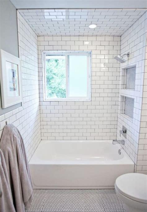 20 small bathroom remodel subway tile ideas small