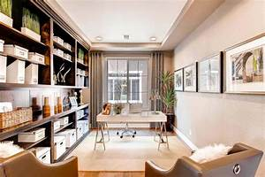 15 exemples damenagement bureau au design elegant et for Bureau de maison design
