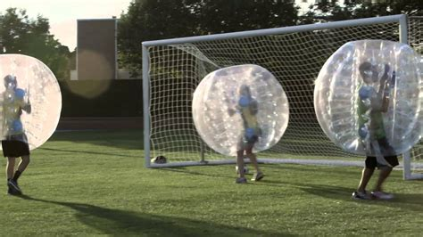 zorb ball soccer fun  byu youtube