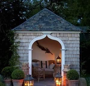 Gartenhaus Mit Lounge : gartenhaus inspiration 23 originelle ideen f r ihre ruhe oase im garten ~ Indierocktalk.com Haus und Dekorationen