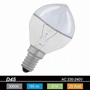E14 25 Watt : gl hlampe d45 e14 kopfverspiegelt silber 25 watt wohnlicht ~ Orissabook.com Haus und Dekorationen